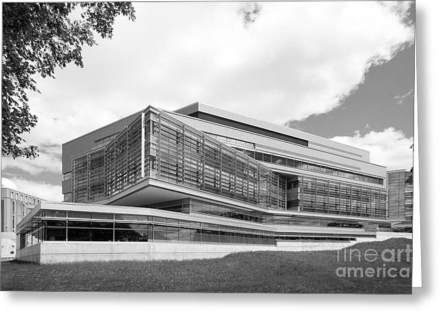 Special Occasion Greeting Cards - Brandeis University Carl J. Shapiro Science Center Greeting Card by University Icons
