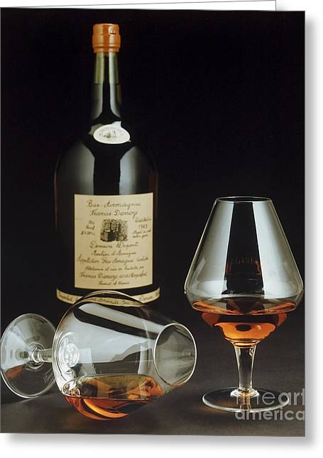 Table Wine Greeting Cards - Brandy Greeting Card by Jerry McElroy