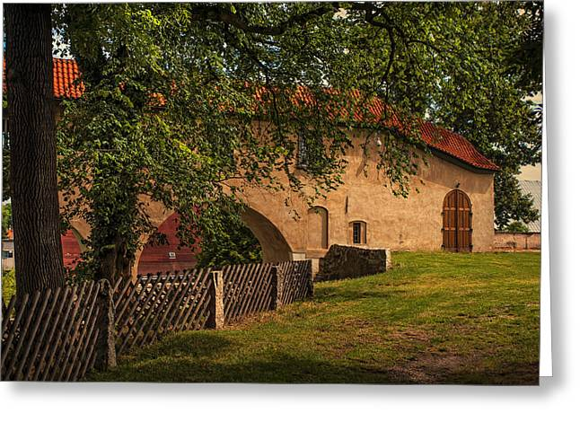 Chateau Greeting Cards - Brandys nad Labem Castle. Czech Rebublic Greeting Card by Jenny Rainbow