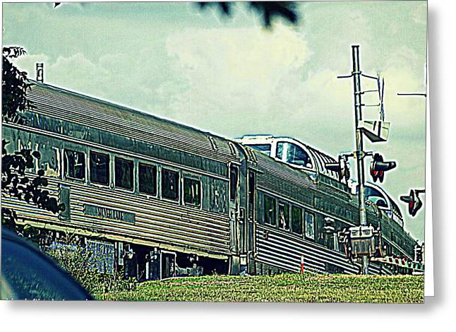 Branson Mo Greeting Cards - Branson scenic railway  Greeting Card by Kim Loftis