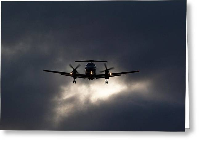 Aircraft Artwork Greeting Cards - Brasilia Breakout Greeting Card by John Daly