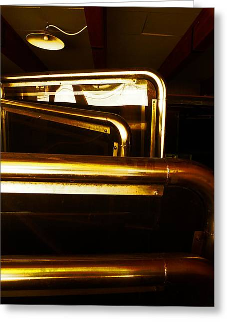 Brass Fittings Greeting Cards - Brassed Off  Greeting Card by Steve Taylor
