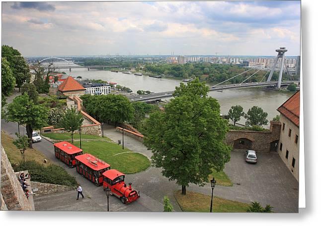 Alex Sukonkin Greeting Cards - Bratislava Greeting Card by Alex Sukonkin