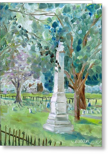 Carnton Plantation Greeting Cards - Brave and Noble Greeting Card by Susan E Jones