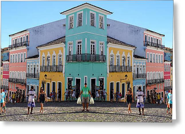 Slaves Greeting Cards - Brazil Double Vision #33 Greeting Card by Evan Peller