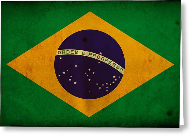 Brasil Greeting Cards - Brazil Greeting Card by NicoWriter