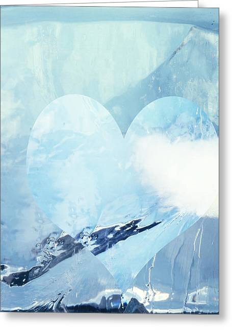 Lovers Greeting Cards - Break the Ice  c2014 Greeting Card by Paul Ashby