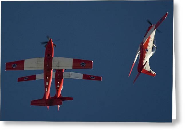 Trainer Aircraft Greeting Cards - Breakaway Again Greeting Card by Paul Job