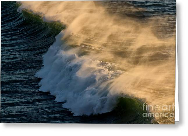 Breaker Greeting Card by Jon Burch Photography