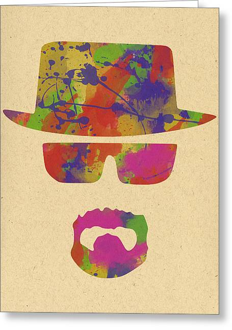 Heisenberg Prints Greeting Cards - Breaking Bad - 2 Greeting Card by Chris Smith