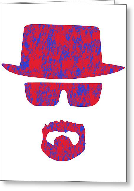 Heisenberg Prints Greeting Cards - Breaking Bad - 3 Greeting Card by Chris Smith