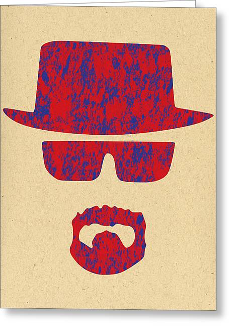 Heisenberg Art Prints Greeting Cards - Breaking Bad - 4 Greeting Card by Chris Smith