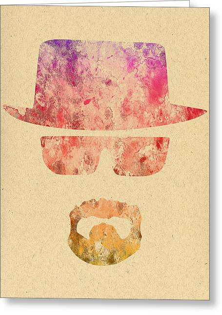 Heisenberg Prints Greeting Cards - Breaking Bad - 6 Greeting Card by Chris Smith
