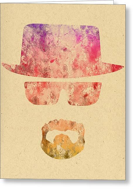 Heisenberg Art Prints Greeting Cards - Breaking Bad - 6 Greeting Card by Chris Smith