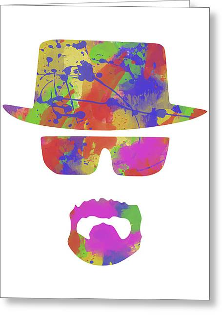 Breaking Bad Prints Greeting Cards - Breaking Bad Greeting Card by Chris Smith