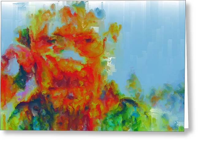 Vince Paintings Greeting Cards - Breaking Bad Paint Splatter Greeting Card by Brian Reaves