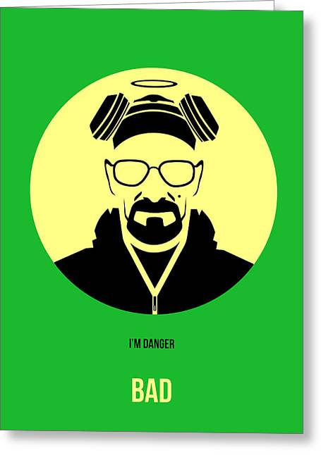 Breaking Bad Greeting Cards - Breaking Bad Poster 3 Greeting Card by Naxart Studio
