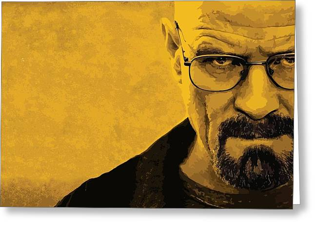 Breaking Greeting Cards - Breaking Bad Greeting Card by Gianfranco Weiss