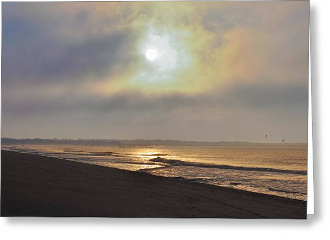 May Morning Greeting Cards - Breaking Sun Greeting Card by Bill Cannon
