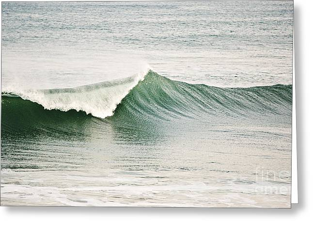 Yachats Greeting Cards - Breaking Wave Greeting Card by Scott Pellegrin