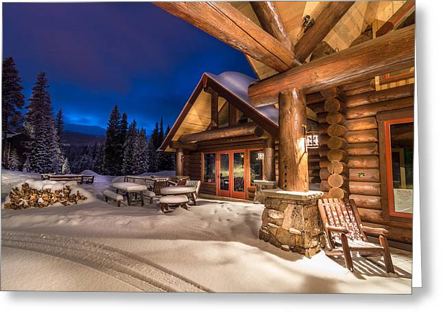 Scenic Greeting Cards - Breckenridge After the Storm Greeting Card by Michael J Bauer