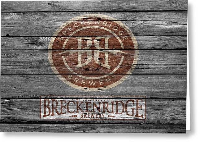 Saloons Greeting Cards - Breckenridge Brewery Greeting Card by Joe Hamilton