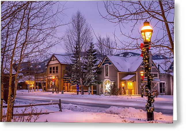 Path Greeting Cards - Breckenridge Colorado Greeting Card by Michael J Bauer