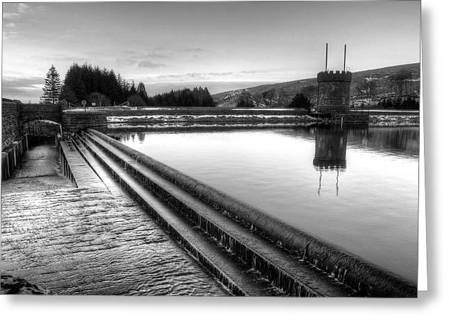 Welsh Reservoirs Greeting Cards - Brecon Beacons Reservoir Greeting Card by Dan Davidson