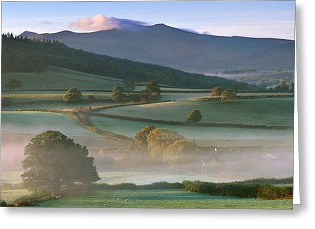 Pen Greeting Cards - Brecon Beacons Greeting Card by Rod McLean