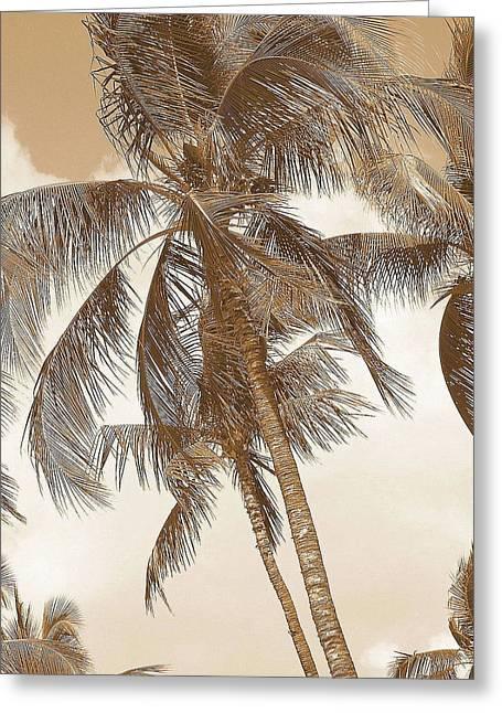 Breeze Greeting Card by Athala Carole Bruckner