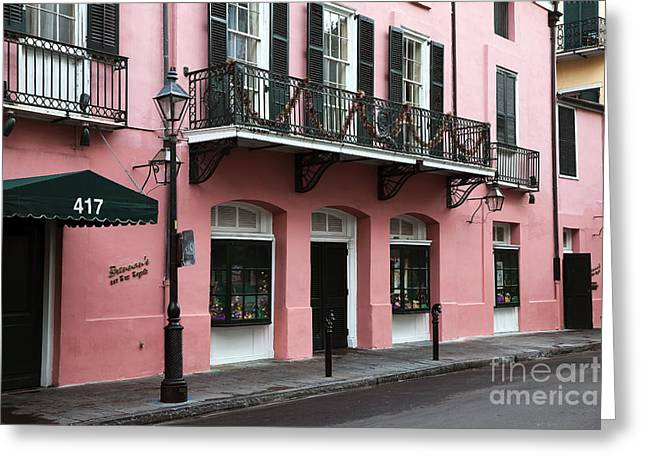 Photo Art Gallery Greeting Cards - Brennans New Orleans Greeting Card by John Rizzuto