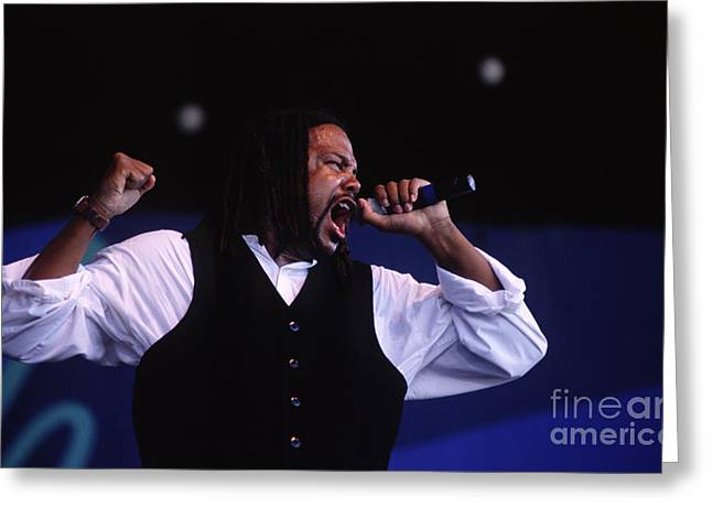 Art Of Soul Music Greeting Cards - Brent Carter Power of Tower Greeting Card by Craig Lovell