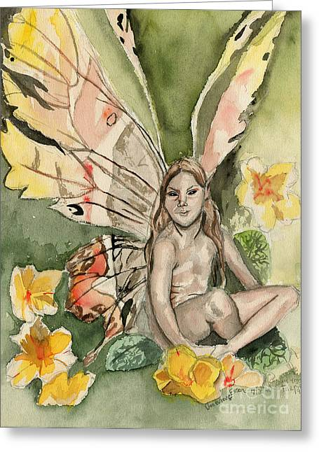 Faeries Greeting Cards - Brian Froud Faerie Greeting Card by Genevieve Esson
