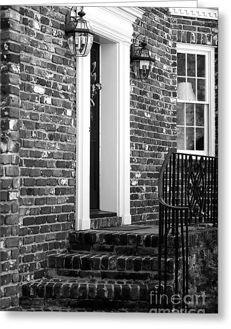 Brick Schools Photographs Greeting Cards - Brick House Greeting Card by John Rizzuto