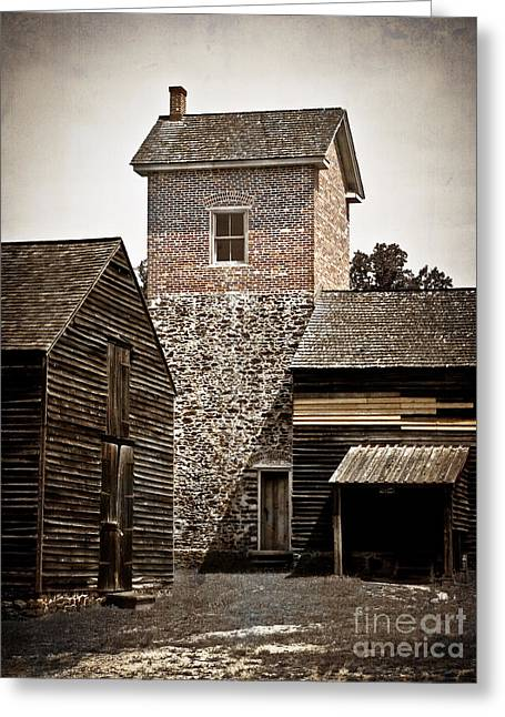 Original Photographs Greeting Cards - Brick Stick and Stone Greeting Card by Colleen Kammerer