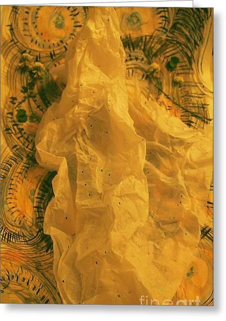 Geometric Sculptures Greeting Cards - Bride 2 Greeting Card by Nancy Kane Chapman