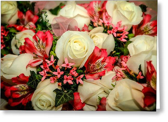 John Kennedy Greeting Cards - Brides Bouquet Greeting Card by John Kennedy