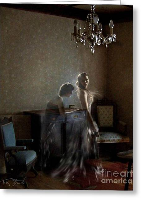 Haunted House Digital Greeting Cards - Brides maid Greeting Card by Tom Straub