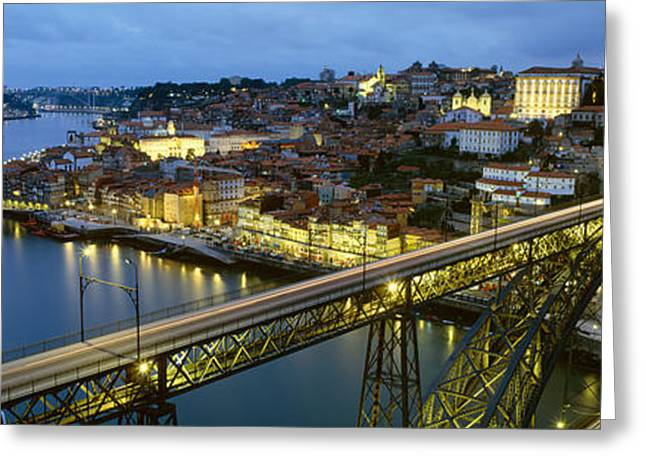 Luis Greeting Cards - Bridge Across A River, Dom Luis I Greeting Card by Panoramic Images