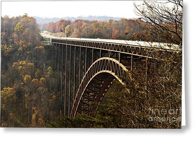 Impressive Greeting Cards - Bridge Greeting Card by Blink Images
