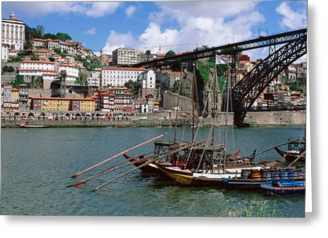 Luis Greeting Cards - Bridge Over A River, Dom Luis I Bridge Greeting Card by Panoramic Images