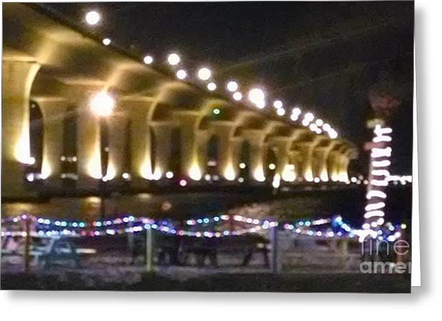 St. Lucie River Greeting Cards - Bridge over St. Lucie River I Greeting Card by Michael Penn