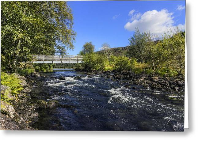 Wales Framed Prints Greeting Cards - Bridge Over Troubled Water Greeting Card by Ian Mitchell