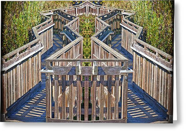Duplicate Greeting Cards - Bridge to Beyond Greeting Card by Chuck Staley