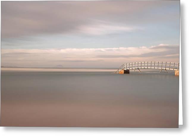 Biel Greeting Cards - Bridge to Nowhere Greeting Card by Maria Gaellman
