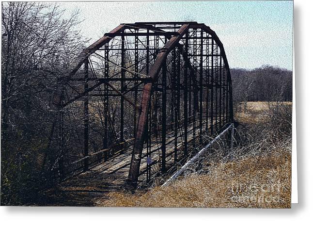 Bridge To Nowhere Greeting Card by R McLellan