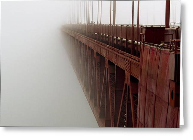 Bridge to Obscurity Greeting Card by Bill Gallagher