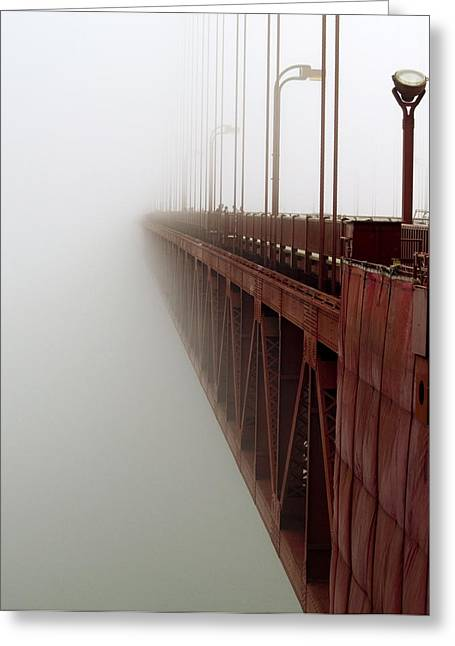 Usa Photographs Greeting Cards - Bridge to Obscurity Greeting Card by Bill Gallagher