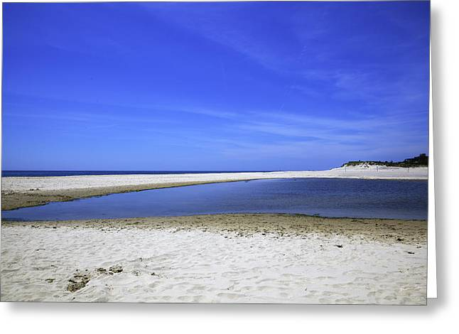 York Beach Greeting Cards - Bridgehampton Sky Greeting Card by Madeline Ellis