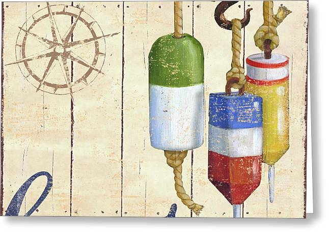 Ahoy Greeting Cards - Bridgeport II Greeting Card by Paul Brent